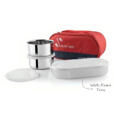 Uninox Sub Ke liye Stainless Steel lunch box