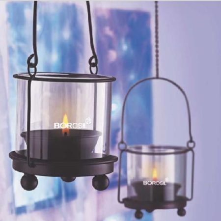 Borosil Hanging Diya Lights Small (Set of 2)