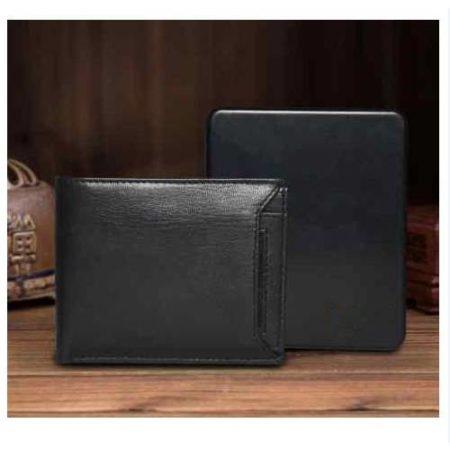 Traccia 1 Leather Wallet Inbuilt Power Bank