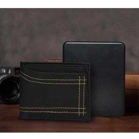 Traccia 2 Leather Wallet Inbuilt Power Bank