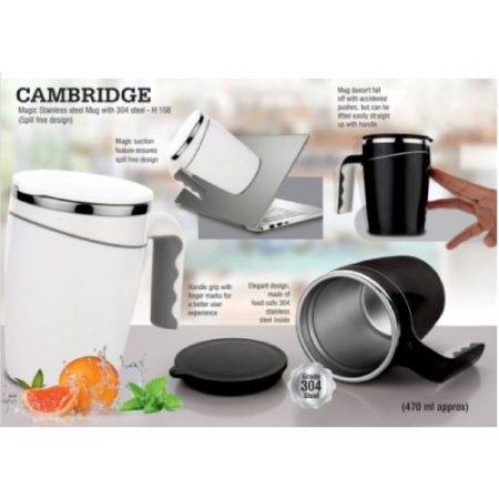 Cambridge Magic Stainless Steel Mug With 304 Steel