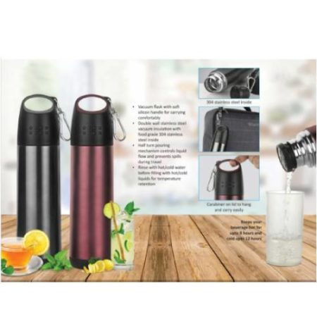Coco Vacuum Flask With Soft Handle