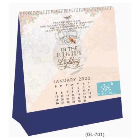 Exotica Table Calendar