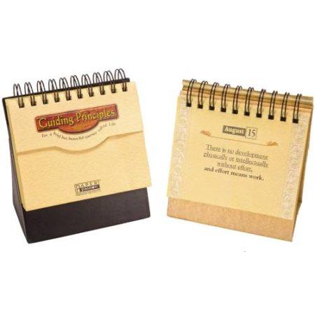 Guiding Principles Cardboard Calendar 2020