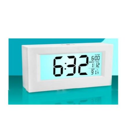 Large Sensor Clock Backlight And Temperature