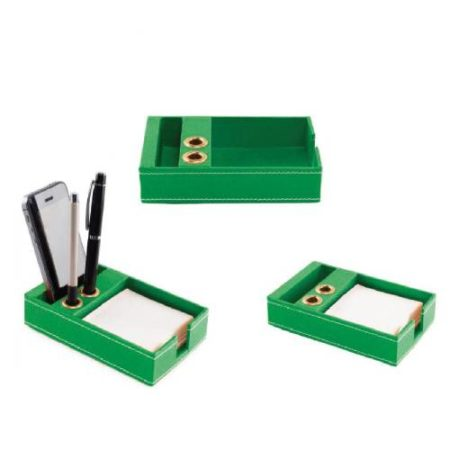 Mobile & Pen Holder (Green color)