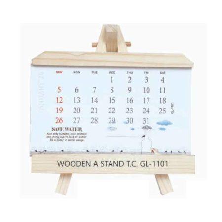 MDF Wooden Table Calendar