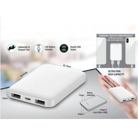 MINI POWER BANK 5,000 MAH