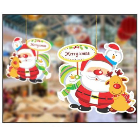 Hanging Christmas Santa(1 pack of 10 pcs)
