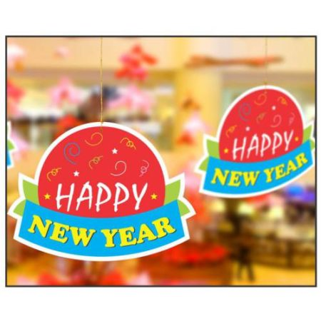 New Year Hanging (1 pack of 10 pcs)