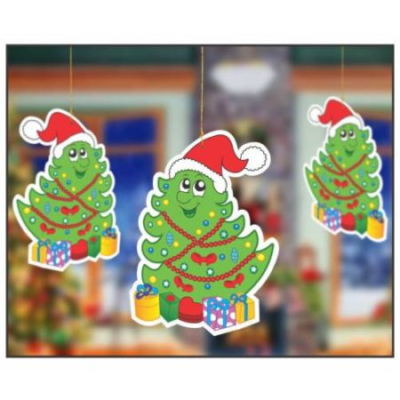 Hanging Smiley Tree (1 pack of 10 pcs)