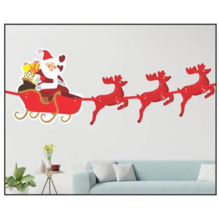 Rendeer Christmas Banner (Pack of 1 pc)
