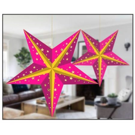 Hanging Star ( Christmas Decoration)