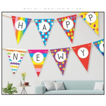 New Year Bunting (1 Set)