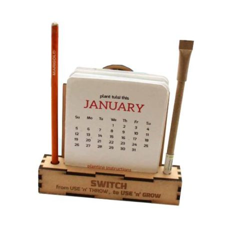 Plantable Eco Friendly Calendar Box