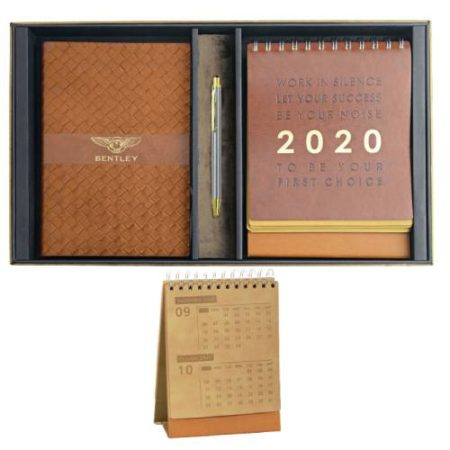 Calendar Notebook Pen Gift Set