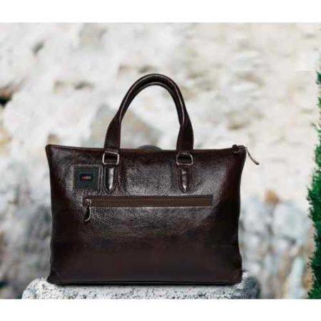 Leather Carry Bag Inbuilt Power Bank