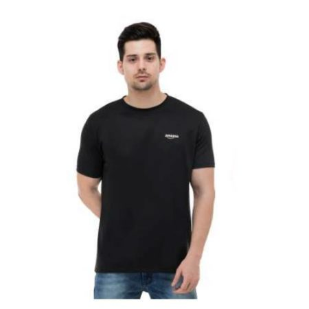 Plain Round Neck T-Shirt 111