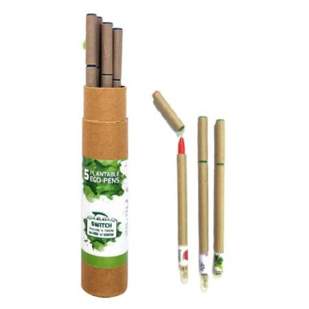 Plantable Eco Pen Box (5pc)