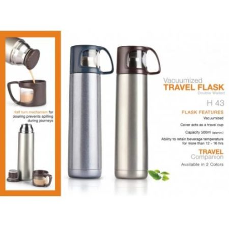 Power Plus Vacuumized Travel Flask