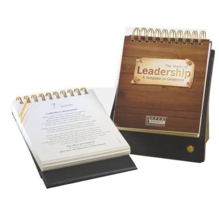 The Marks of Leadership Cardboad Calendar 2020
