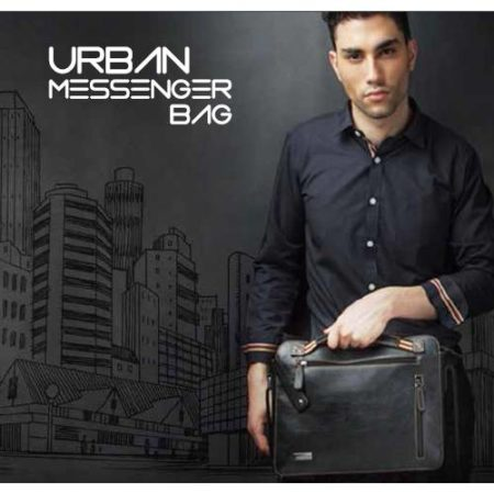 Urban messenger laptop bag