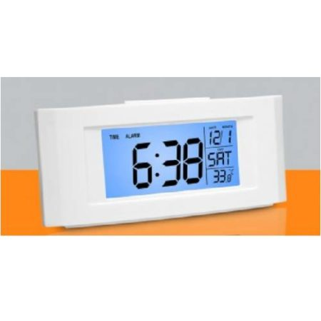 Vista Backlight Clock With Temperature