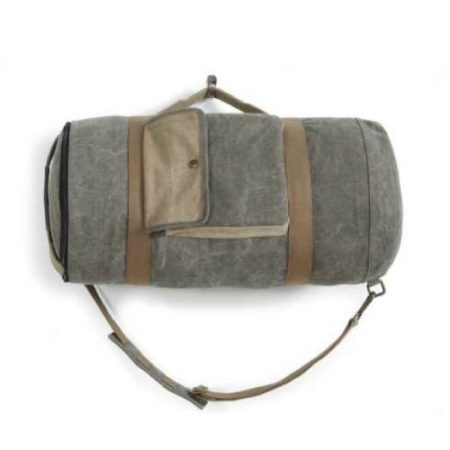 Duffle Carry Handle Round Bag