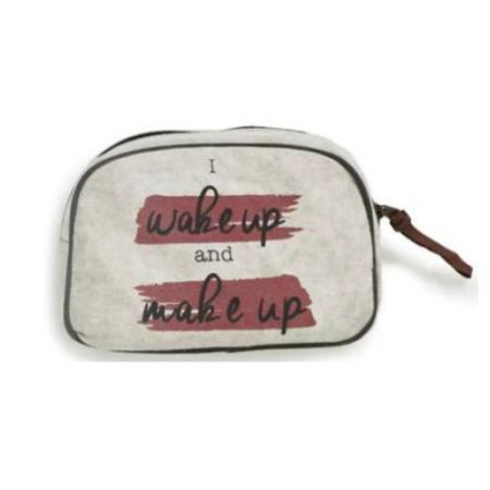 Wake Up Cosmetic Bag