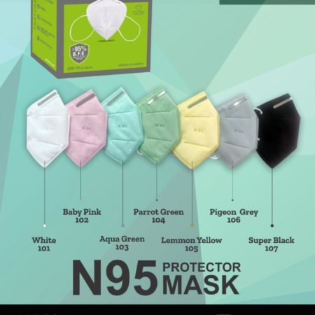 N95 Certified Colored Mask