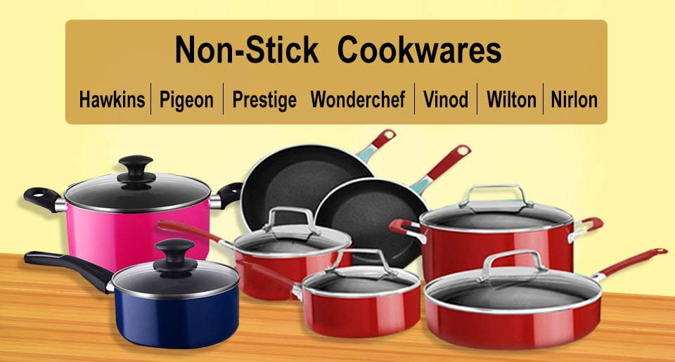 Non-stick Cookware at best prices at Angel Gifts & Events